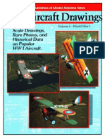 Scale Aircraft Drawings Volume I (WW I)