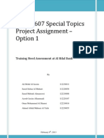 MGT 607 Project Assignment