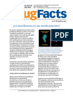 MARIGUANA COMO MEDICAMENTOdrug Facts Medical Marijuana Spanish 100212 Final 0