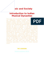 Musical Dynasties in India