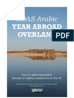 Reaching the Middle East overland from Europe