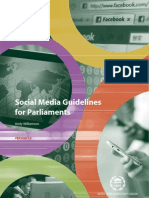 Social Media Guidelines for Parliaments