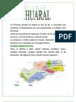 El Mapa Cultural Del Distrito de Huaral