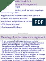 Performance mgt