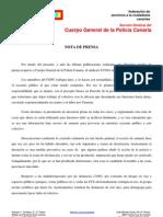 Nota de Prensa CCOO 19.03.13