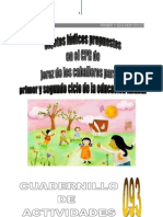 093 LOS OBJETOS LÚDICOS PROPUESTOS EN JEREZ DE LOS CABALLEROS PARA EL 1er. y 2do. CICLO DE LA EDUCACIÓN INFANTIL