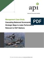 Cascading Balanced Scorecards