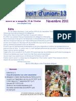 Trait d'Union Novembre 2011