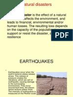 Natural Disaster Ppt
