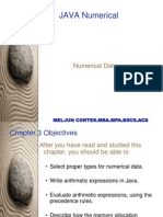 MELJUN CORTES  Java Numerical Data Types Expressions