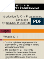 MELJUN CORTES  Introduction to C Programming Complete