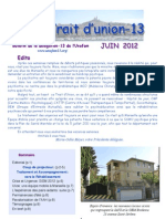 Trait d'Union Juin 2012