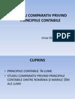 Studiu Comparativ Privind Principiile Contabile