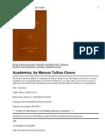 Cicero Academica