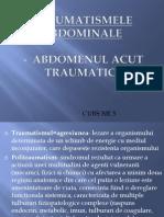 Curs 3 Traumatismele Abdominale
