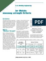 filler metal matching.pdf