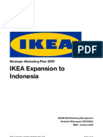 Ikea Entry to Indonesia