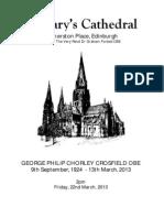 Philip Crosfield Funeral Service
