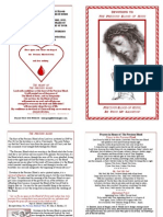 Precious Blood Pamphlet
