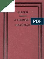 Plinius Nat Hist Magyarul