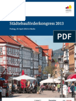 Städtebauförderkongress 2013 in Berlin (Info & Programm) (CO-LECTION[TM]