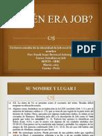 EXPOSICIÓN DE JOB