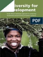 Biodiversity for Development