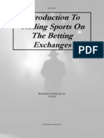 Introduction to Trading Sports on the Betting Exchanges by Betfair Guru