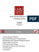 Solar Thermal Electric Car Charging Station Final 2