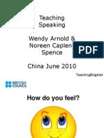 Hk Teaching Speaking