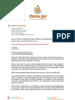 Mama Ye - Pressrelease -Uzinduzi Wa Tovuti Swahili Mar22