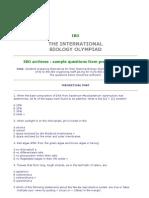 2590706 Biologi Sample IBO Quations