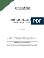 Mymo LTE eNodeB Simulator