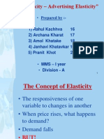 Cross Elasticity Ppt of Eco