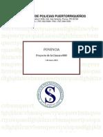 Ponencia p de La c 888 Sobre Enmiendas a Sistema de Retiro