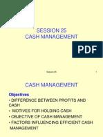 Cash Magt