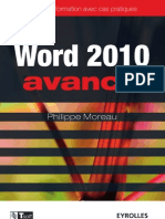 Word 2010 avancé - Guide de formation avec cas pratiques