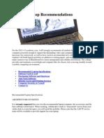 Student Laptop Recommendations