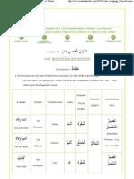 L015 - Madinah Arabic Language Course