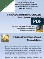 Aspectos Introductorios (Finanzas Internacionales y Mercados Financieros)