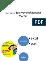 Promotif Dan Preventif Penyakit Morbili
