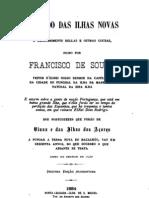 Tratado Das Ilhas Novas - Francisco de Sousa