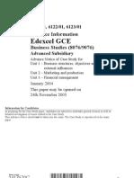 Advance Case Study 2004