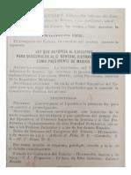 Decreto 122-Deconocimiento de Huerta Por El Estado de Sonora