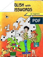 English With Crosswords for beginners