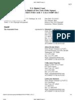 Associated Press (AP) v. Meltwater, 12 Civ. 1087 (DLC) (S.D.N.Y.) (docket, as of 3-24-13)