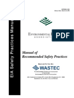 480-EIA Manual of Recommended Safety Practices - Index