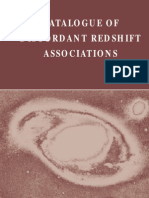 Halton Arp - Catalogue of Discordant Redshift Associations