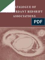 Halton Arp - Catalogue of Discordant Redshift Associations