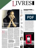 Supplément Le Monde des livres 2013.01.25